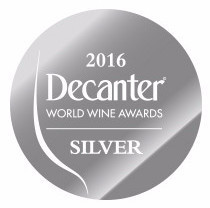 Silver Decanter Wine Award  2016 - Tilaria 2012